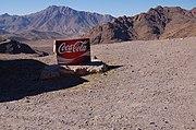 Publicité «Coca-Cola» dans les montagnes du Haut Atlas (Maroc)