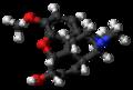 Codeine molecule ball.png