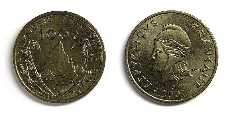File:Coin 100 XPF French Polynesia.jpg