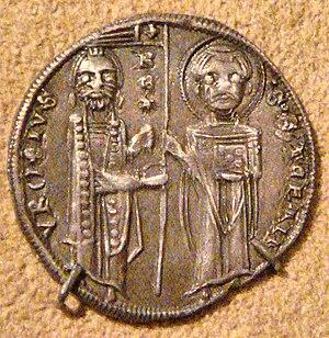 Stefan Uroš I - Image: Coin of Stefan Uroš I