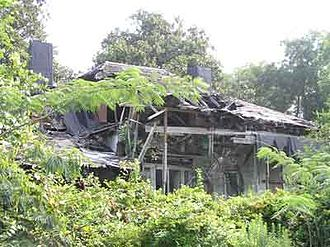 Battle of Champion Hill - Ruins of the Coker House in 2005