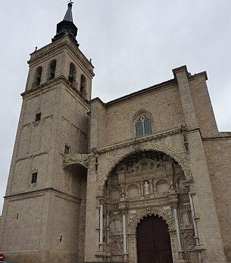 Torrijos, Spain - Image: Colegiata Torrijos 2011