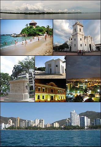 Santa Marta - Image: Collage Santa Marta