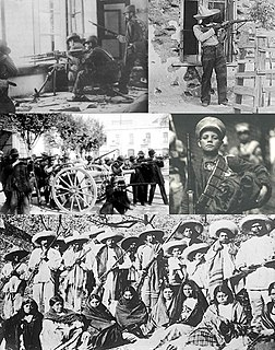 major nationwide armed struggle in Mexico between 1910 and 1920