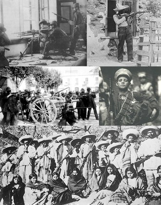 Mexican Revolution - Collage of the Mexican Revolution