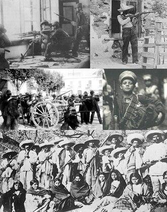 Mexican Revolution - Image: Collage revolución mexicana