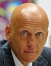 Italienischer Schiedsrichter Glatze