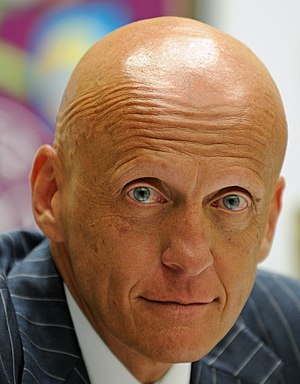 Pierluigi Collina - Pierluigi Collina as a head of referees for the Football Federation of Ukraine in 2010
