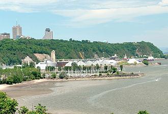 Promontory of Quebec - Image: Colline de Québec