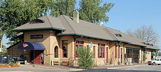File Colorado And Southern Railway Depot Loveland Colorado Jpg Wikimedia Commons