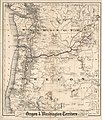 Colton's township map of Oregon & Washington Territory, issued by the Oregon Railway and Navigation Co. LOC 98688755.jpg