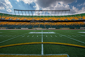 Commonwealth Stadium (Edmonton) - Commonwealth Stadium Field Level