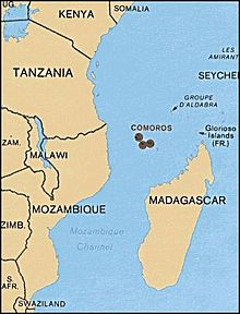 Geography of the Comoros   Wikipedia