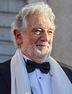 Plácido Domingo Spanish opera singer and conductor