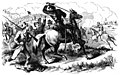 Confederate cavalry driving stragglers and skulkers back to their duty at the Battle of Antietam.jpg