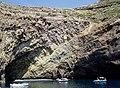 Conglomerate overlying volcanic debris - panoramio.jpg