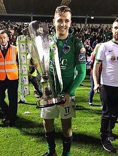 Connor Ellis UK-born Irish professional footballer