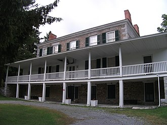 National Register of Historic Places listings in Lewis County, New York - Image: Constable Hall Jun 11