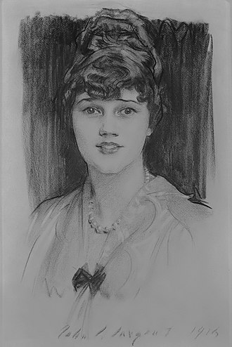 Harry Crosby - Constance Coolidge (1892-1973) (John Singer Sargent, 1915)