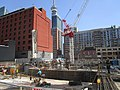 Construction around the old Westinghouse building, at Soho and King, 2017 05 18 -al (33906290744).jpg