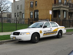 Cook County Sheriff's Office - A Ford Crown Victoria Police Interceptor of the Cook County Sheriff's Office
