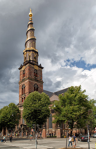Church of Our Saviour, Copenhagen - Image: Copenhagen Church of Our Saviour 2013