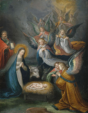 Cornelis de Baellieur - Adoration of the Shepherds