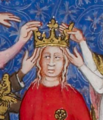 Coronation of Jeanne of Bourbon, consort of Charles V.png