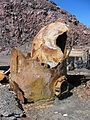 Corroded iron tank in abandoned mine on White Island.jpg