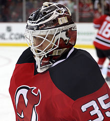 Cory Schneider with the New Jersey Devils in 2014
