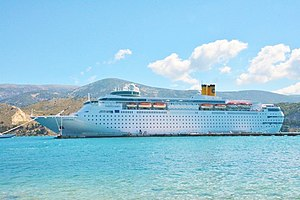 Costa Cruises - Image: Costa neo Classica sto argostoli