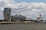 Costa neoRomantica moored in Port of Hamburg 10 July 2015.jpg