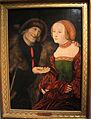 Cranach il vecchio, coppia diseguale (il vecchio buhler), anni 1520-30 01.JPG
