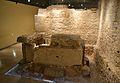 Cripta arqueològica de la presó de sant Vicent Màrtir de València, tomba.JPG