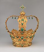 Crown of the Virgin of the Immaculate Conception, known as the Crown of the Andes MET DP365520.jpg
