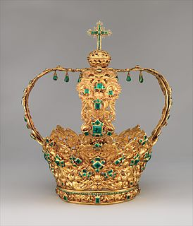 Crown of the Andes gold highlighted in The MET collection