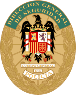 General Police Corps Law enforcement institution during the Francoist Spain