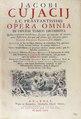 Cujas - Opera omnia, 1722 - 126.tif