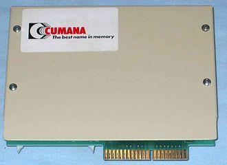 Cumana (company) - Cumana Floppy Disk System for the Acorn Electron.