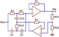 Current feedback op amp notch filter.png