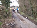 Cyclists on Flint Lane - geograph.org.uk - 1181353.jpg