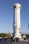 Cygnus CRS OA-6 Atlas V rocket interstage (25591922345).jpg