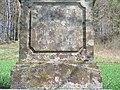D-6-74-160-13 Inschrift am Wegkreuz zwischen Kirchlauter und Pettstadt.jpg