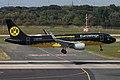 D-AIZR Airbus A320-200 Eurowings BVB Mannschaftsairbus DUS 2018-09-01 (5a) (44060719565).jpg