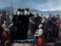 D. Luís e D. Maria Pia dando esmola aos pobres, no Porto.png