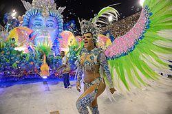 Samba Dancer - Rio Carnaval