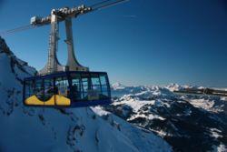 Os telef�ricos s�o tamb�m muito utilizados em est�ncias de esqui