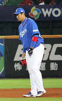 Lee Dae-Ho vid World Baseball Classic 2013.