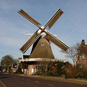 De Bente, Dalen - Image: Dalen molen De Bente