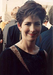 Dana Delany w 1991 Emmy Awards